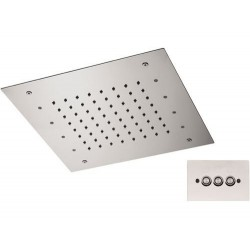 Soffione a soffitto 357 RS30 CROMOTERAPIA