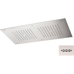 Soffione a soffitto 357 RR7040 CROMOTERAPIA