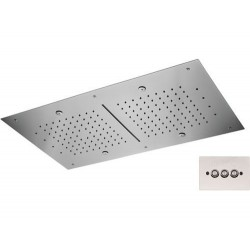 Soffione a soffitto 357 RR7040NC CROMOTERAPIA
