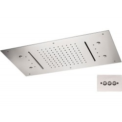 Soffione a soffitto 357 RR7040N2C CROMOTERAPIA