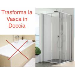 Kit Aurora -Trasformazione vasca in doccia-